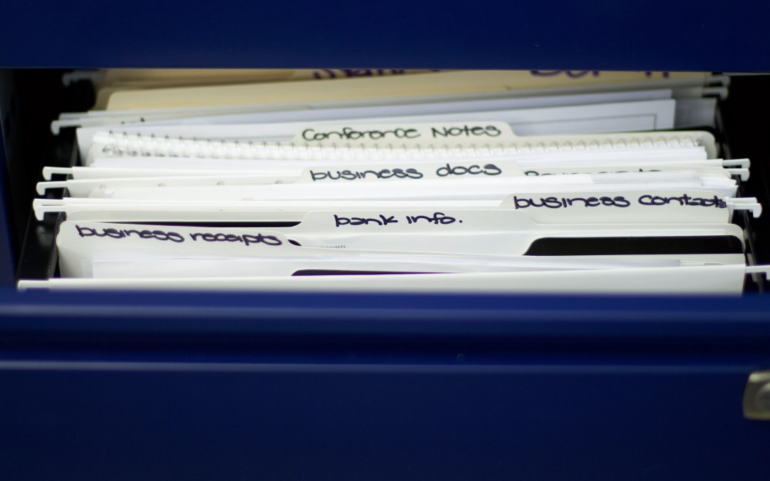 Home Filing System Ideas