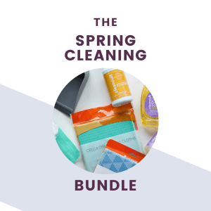 the complete spring cleaning bundle graphic and text
