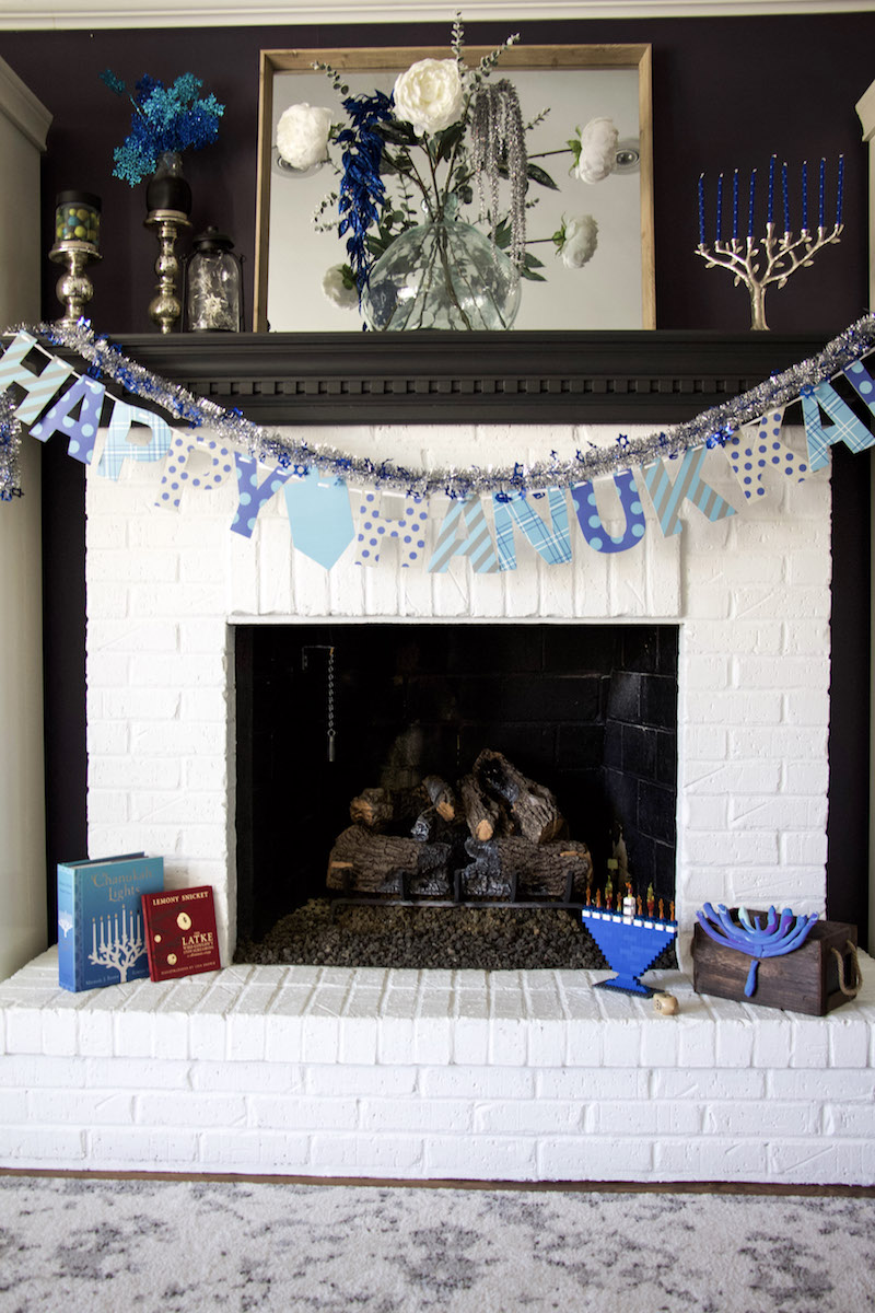 hanukkah decorations mantel