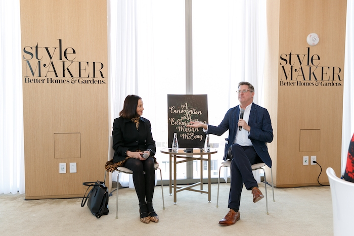 speaker at Better Homes and Gardens stylemaker 2019 event in new york