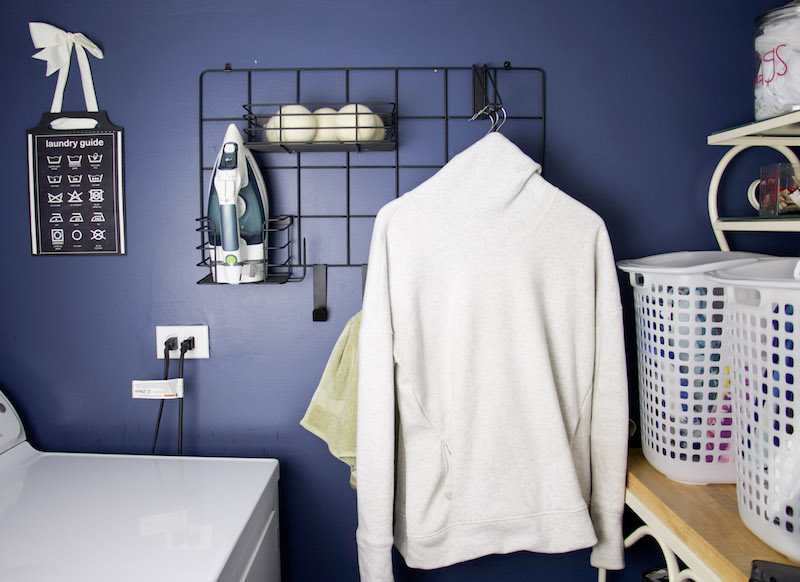 Jayce Grid System From iDesign #laundryroom