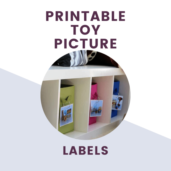 printable toy picture labels text over picture of picture labels on bins