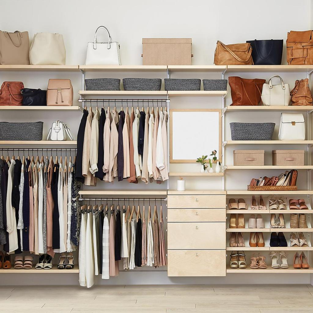 recreate it dream closet with the container store