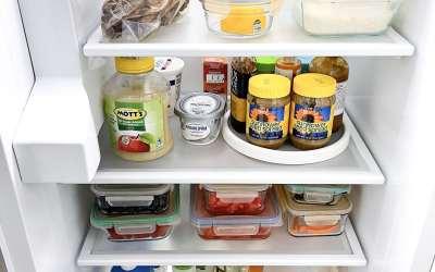 Lining Refrigerator Shelves With Drawer Liner