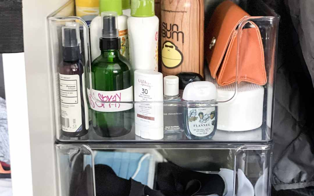 Simple Habits For Organizing Face Masks