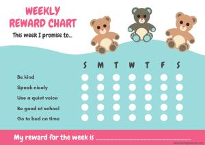 Free reward chart.