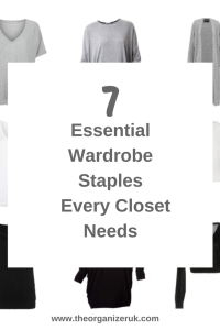 7 wardrobe staples for every closet