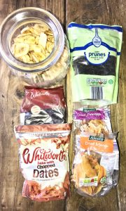 healthy snack bags , meal prep for beginners