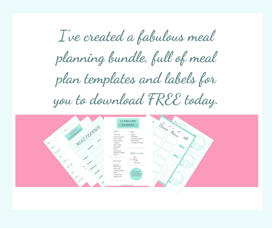 free meal planning bundle , how to meal prep for beginners