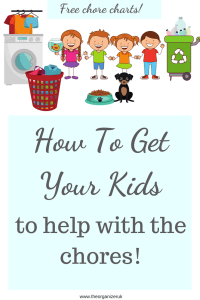 how to get your kids to do chores