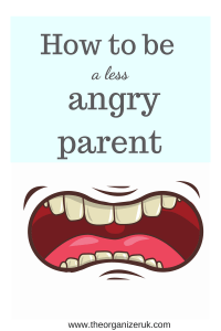 How to be a less angry parent