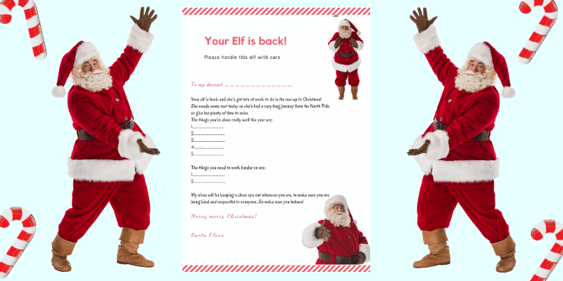 5 Of The Best Ever Elf Arrival Letters