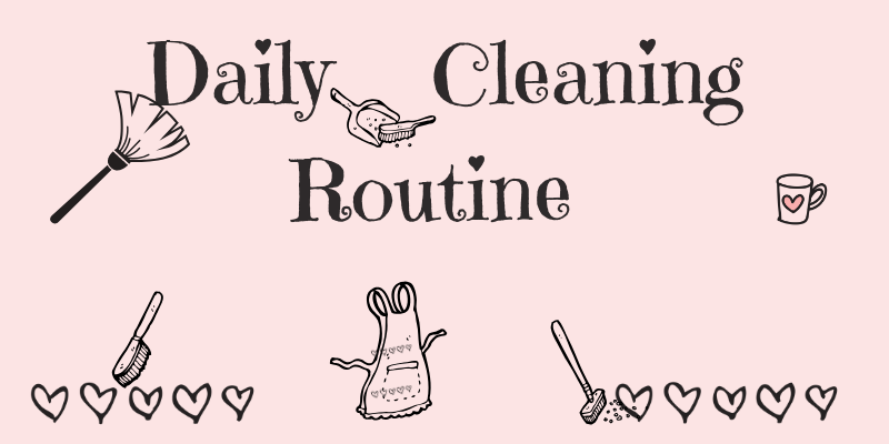 How To Follow The Ultimate Housework Routine.