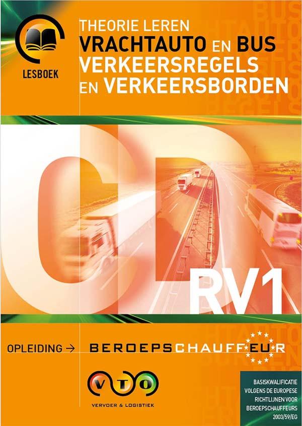 Vrachtwagen Theorie Uitgebreid Boek RV1 Verkeer