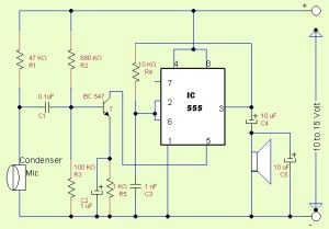 IC555 as Amplifier  theoryCIRCUIT  Do It Yourself Electronics Projects