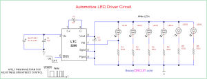 Automotive LED Driver Circuit