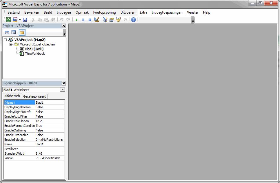 Wachtwoord Excel werkblad beveiliging kraken