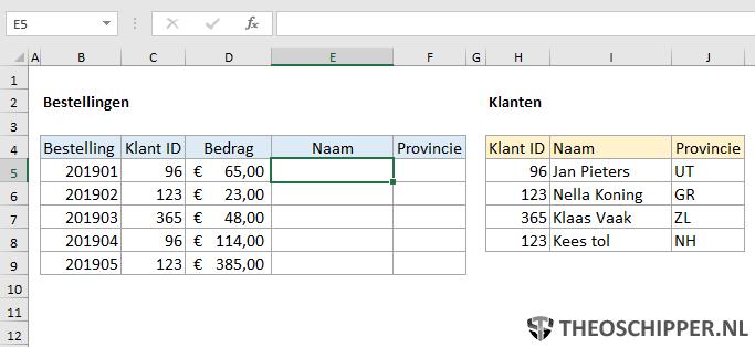Excel Verticaal zoeken tips