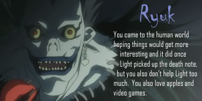 What Shinigami Are You?