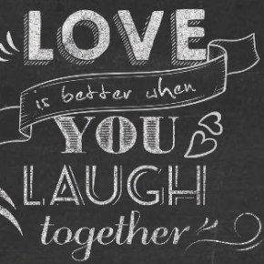 Laughter in Love happened to me.. #LoveAndLaughter