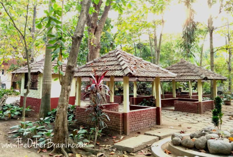 Seating Area before and after sessions at Divine Retreat Centre Muringoor Kerela