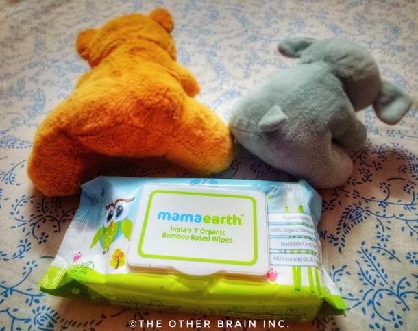 MamaEarth Baby Wipes - India's 1st Organic Bamboo based Wipes