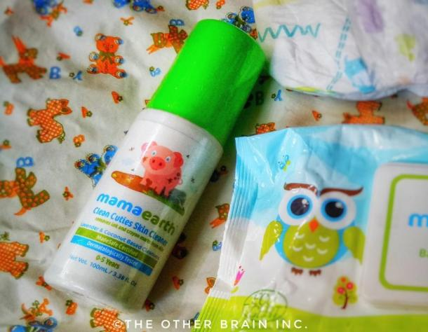 MamaEarth Clean Cuties Skin Cleaner - Safe baby products in India