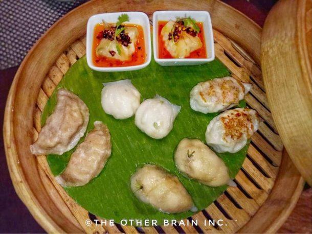 Non-Vegetarian Assorted Dim Sums - Rice Restaurant - Radisson Blu Hotel Dwarka