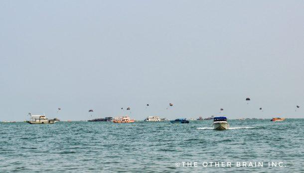 Water activities in Pattaya