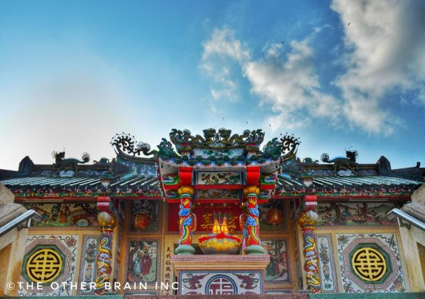 Chinese Temple at Chantaboon Waterfront area