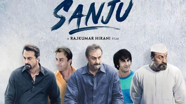 Ranbir Kapoor as Sanjay Dutt in Sanju movie