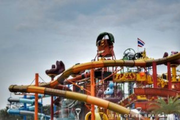 Trust us these water slides aren't for kids! : Girl Gang Trip - Pattaya!