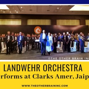 'Jai Ho!' plays LANDWEHR Orchestra on their first Tour of Indo-Swiss Rhapsody at Clarks Amer, Jaipur