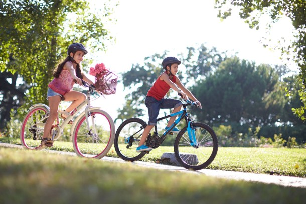 Cycling is a great exercise for kids as well: Overall development of children