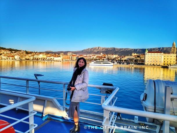 Reaching Croatia in winters