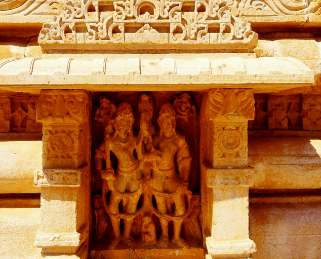 Sculpture of deities is an integral part of Meerabai Temple Architecture (Photo Copyright - www.TheOtherBrainInc.com)