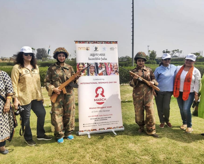 Women's Day celebrated in the form of day outing at Delta 105, Gurgaon organized by India Tourism Delhi, Ministry of Tourism