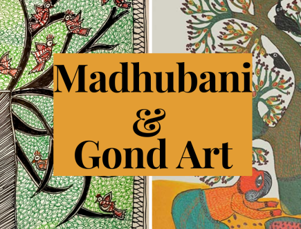 Is Gond art and Madhubani art same?