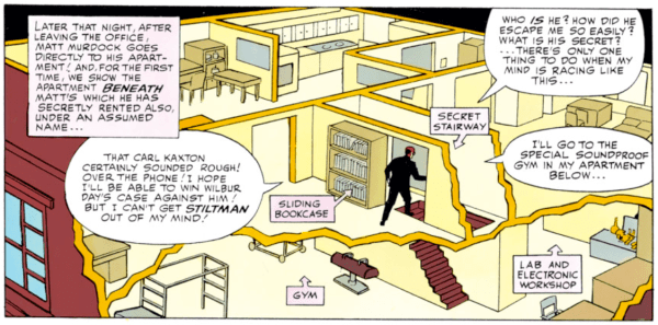 The life of a superhero – check out the digs!