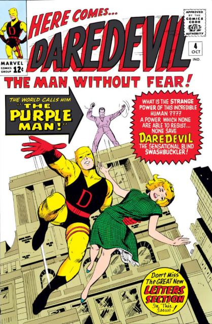 Daredevil #4 - The Purple Man
