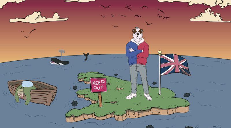 Ali Bla Bla Island single cover
