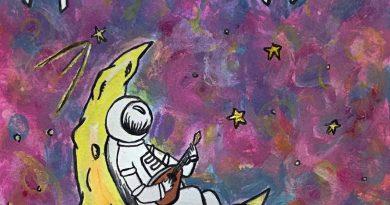 SoCal Jack Mandolin on The Moon single cover
