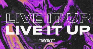 Gage Baggs Live It Up single cover
