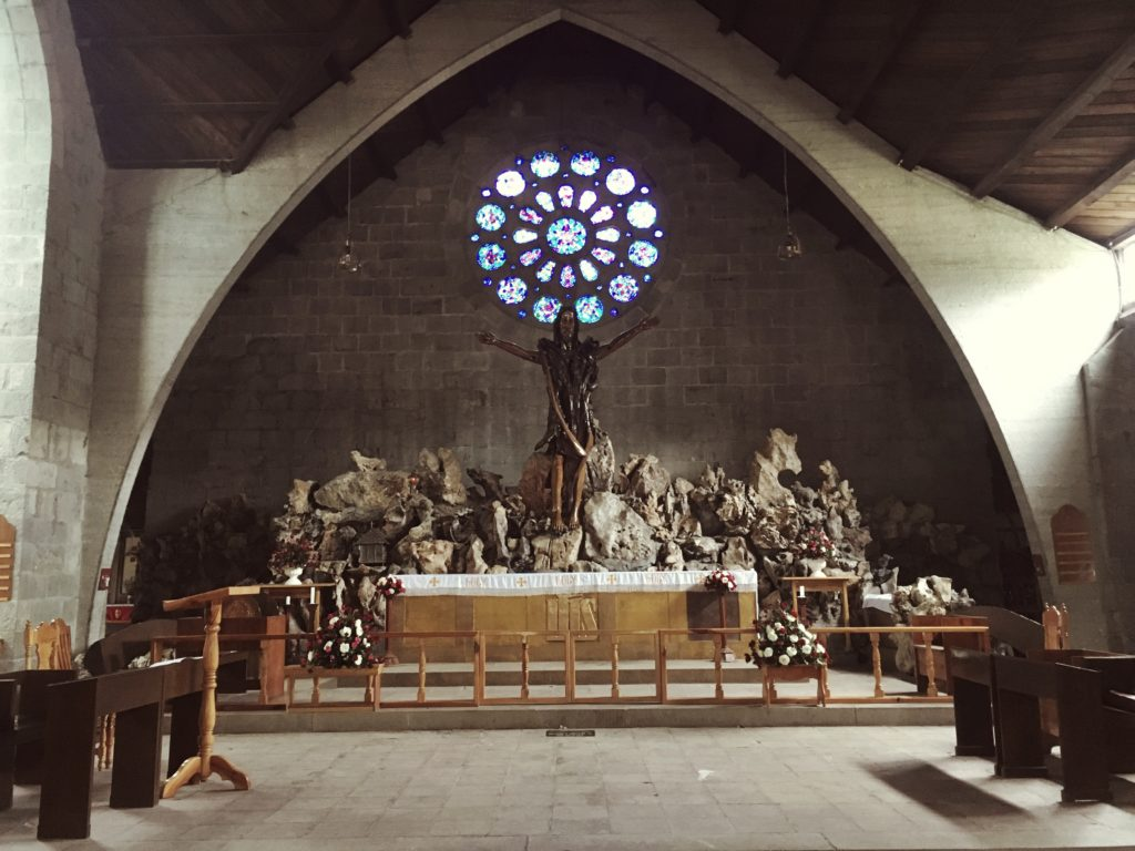 small old St. Mary's Church in sagada