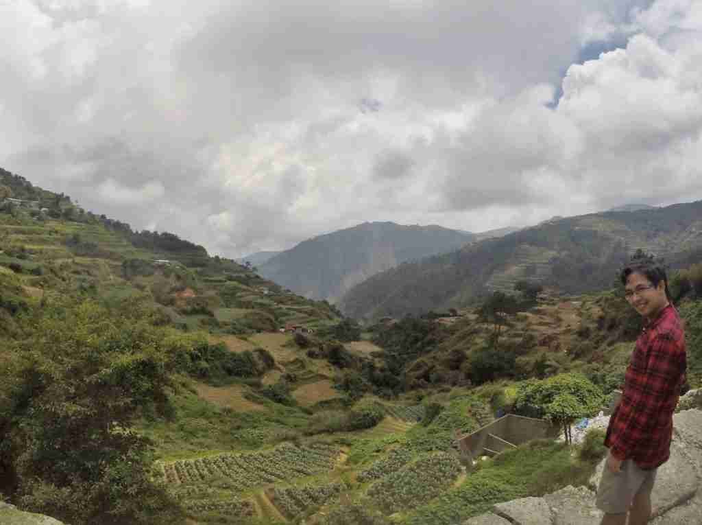 panoramic view of sagada