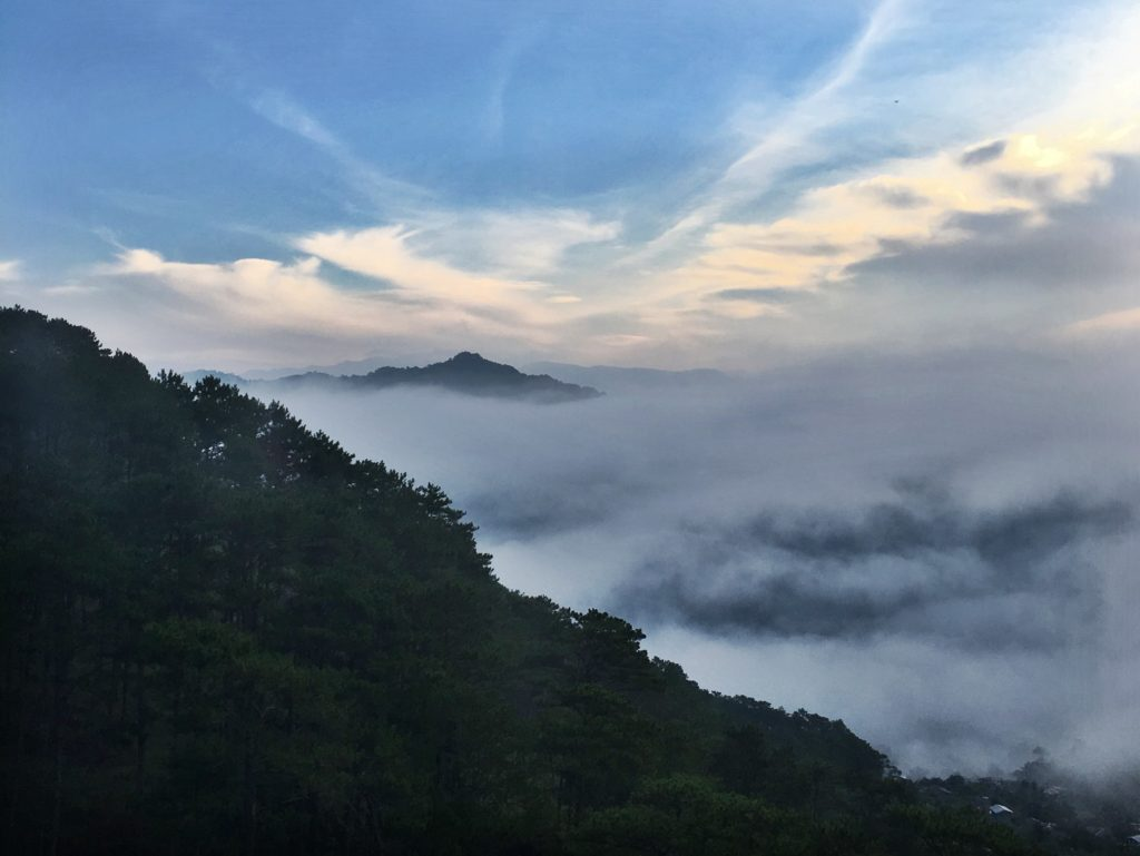 sea of clouds sagada mountain province
