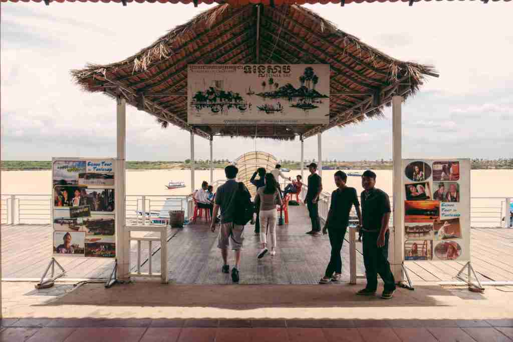 Entrance to Tonle Sap Lake