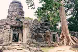 banteay kdei temple siem reap cambodia