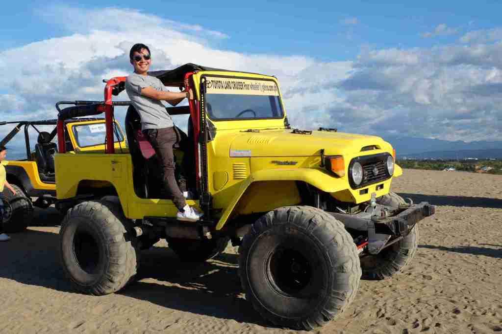 paoay ilocos atv in sand dunes