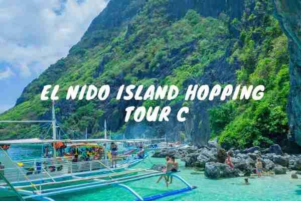 island hopping tour c in el nido helicopter island, star beach, secret beach